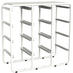 Storex Storage Rack with 12 Cubby Bins, Rack only (no bins)