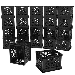 Micro Crates, Black (18 units/pack)