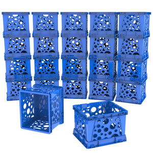 Micro Crates, Blue (18 units/pack)