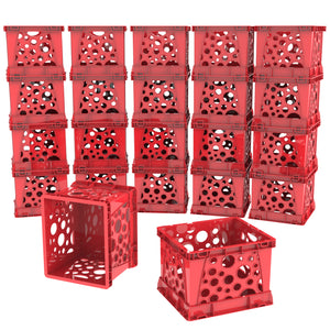 Micro Crates, Red (18 units/pack) - Storex