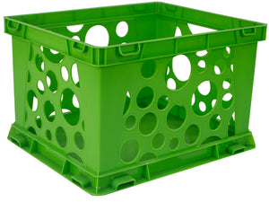 Storex Micro Crate Green 18-Pack Single