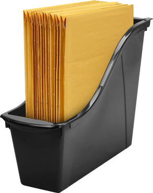 Small Book Bin, Black (6 units/pack)