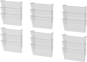 Snap and Stack Wall Pockets Files, Letter