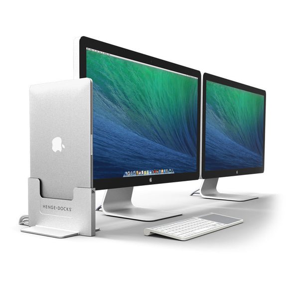 Vertical Docking Station for MacBook Pro with Retina Display dual display and Clique
