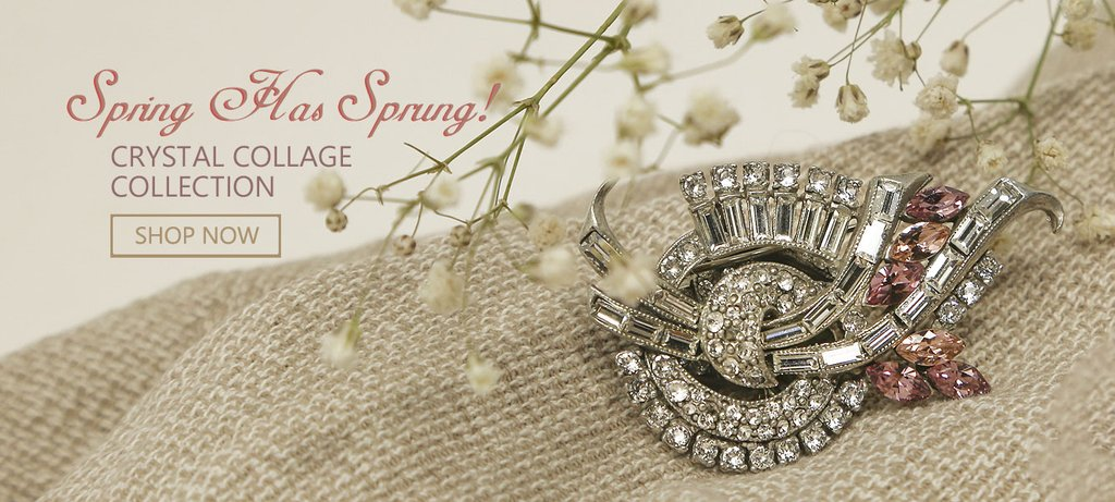 Spring Has Sprung!  New Crystal Collage Collection.