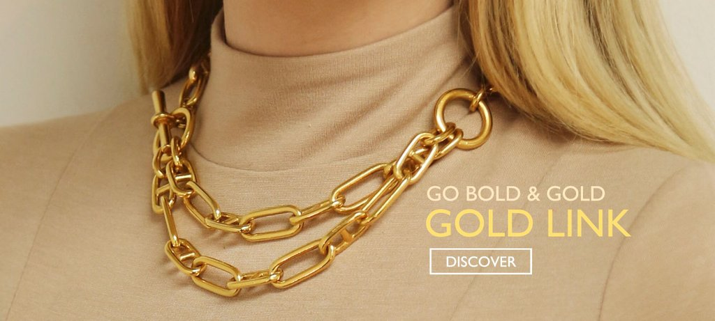 Go Bold and Gold with Ben-Amun's Newest Collection: Gold Link