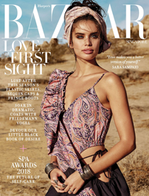 Harper's BAZAAR Singapore February 2018