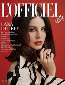 L'Officiel USA March 2018 | Lana Del Rey | Ben-Amun | Bangles