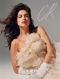 CR Fashion Book featuring Irina Shayk | Clear Lucite Bangles | Ben-Amun