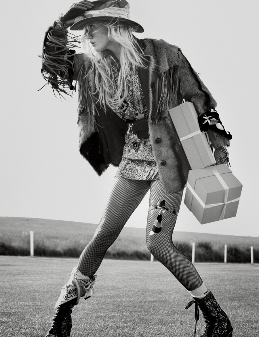 W Magazine | Karlie Kloss | Ben-Amun | Fashion Editorial | Midwest Fashion