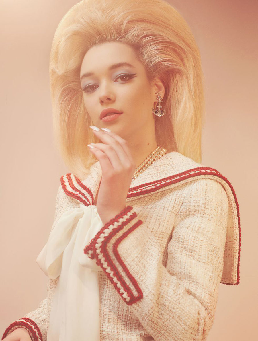 CR Fashion Book | Sarah Snyder | Pre-Fall Collections | Pearl Strand Necklace | Costume Jewelry | Ben-Amun