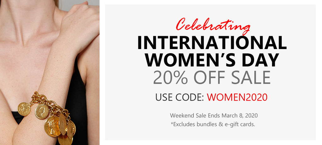 International Women's Day Weekend Sale