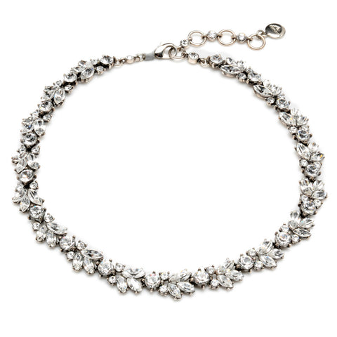 Elegant Deco Crystal Necklace - Ben-Amun