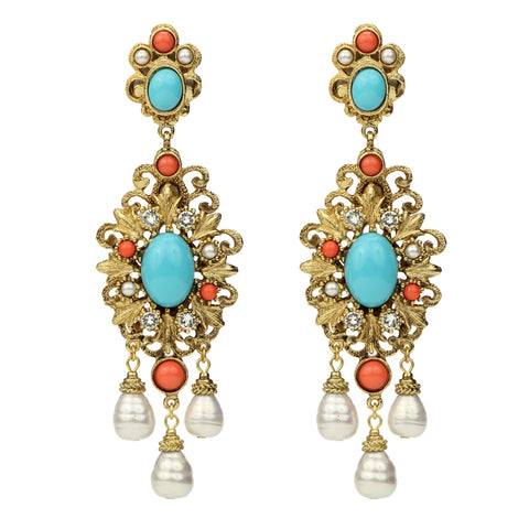 Solaire Opal Drop Earrings | Ben-Amun