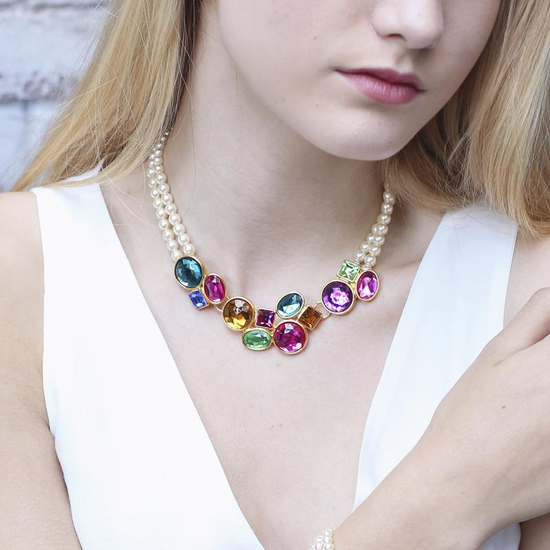 Candy Multicolor Pearl Necklace - Ben-Amun