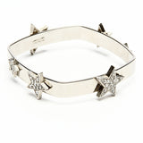 Rock Star Crystal Square Bracelet - Ben-Amun