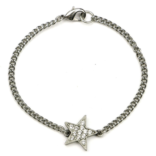 Rock Star Crystal Chain Bracelet - Ben-Amun