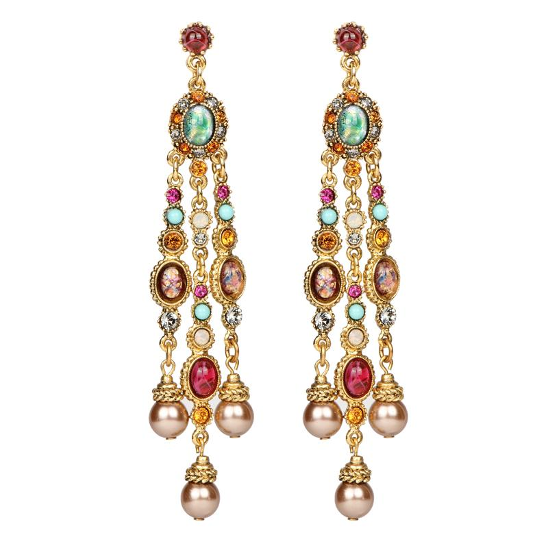 Boheme Drop Post Earrings - Ben-Amun