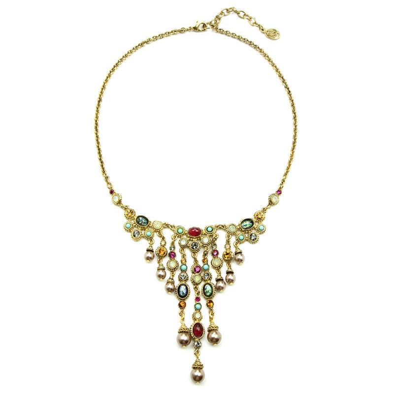 Boheme Pendant Drop Necklace - Ben-Amun