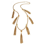 Boheme Tassel Necklace - Ben-Amun
