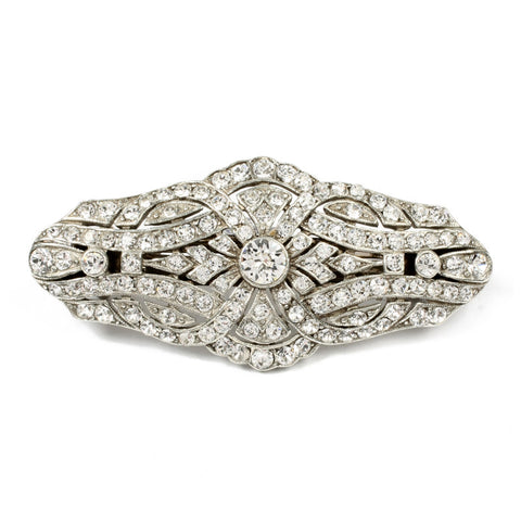 Deco Crystal Hair Barrette - Ben-Amun