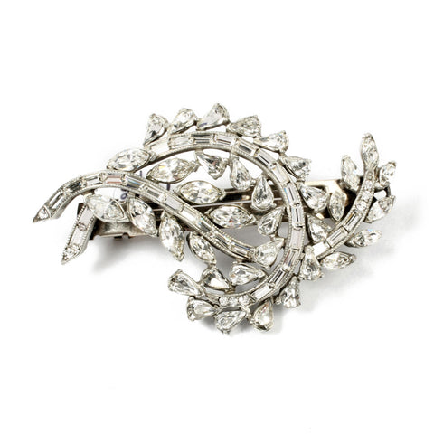 Crystal Deco Hair Barrette - Ben-Amun