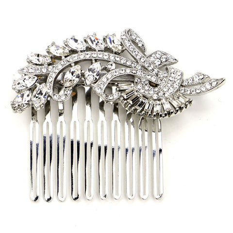 Crystal Deco Hair Comb - Ben-Amun