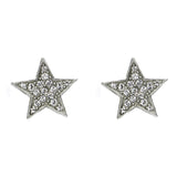 Rock Star Crystal Stud Earrings