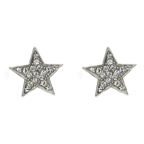 Rock Star Crystal Stud Earrings - Ben-Amun