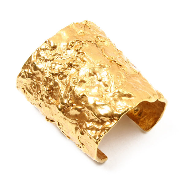 Foiled Gold Cuff - Ben-Amun