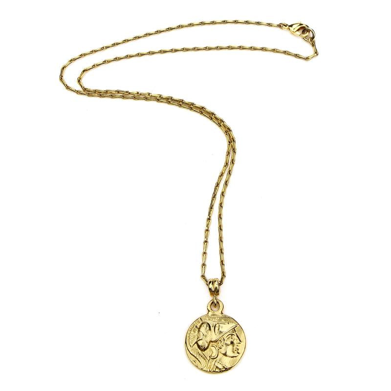 The Art of Layering Roman Coin Necklace | Ben-Amun Jewelry | Gold Layered Necklace | Coin Pendant | Everyday Jewelry | Made to Layer | Dainty Jewelry | Minimal Jewelry | gold plated layered necklace | layered coin necklace | triple layered coin necklace