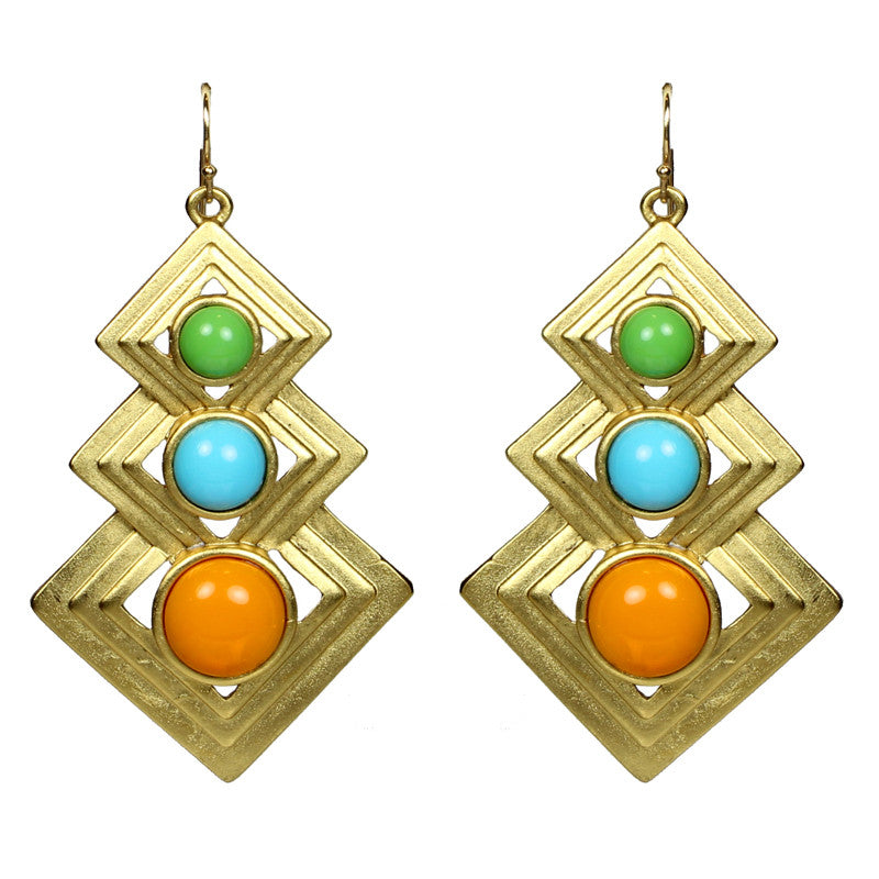 Ibiza Statement Earrings - Ben-Amun