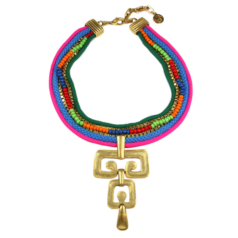 Ibiza Necklace with Pendant - Ben-Amun