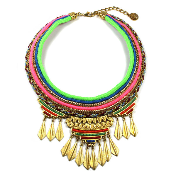 Ibiza Fan Necklace - Ben-Amun