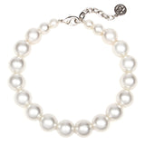 White Bubble Pearl Petite Necklace
