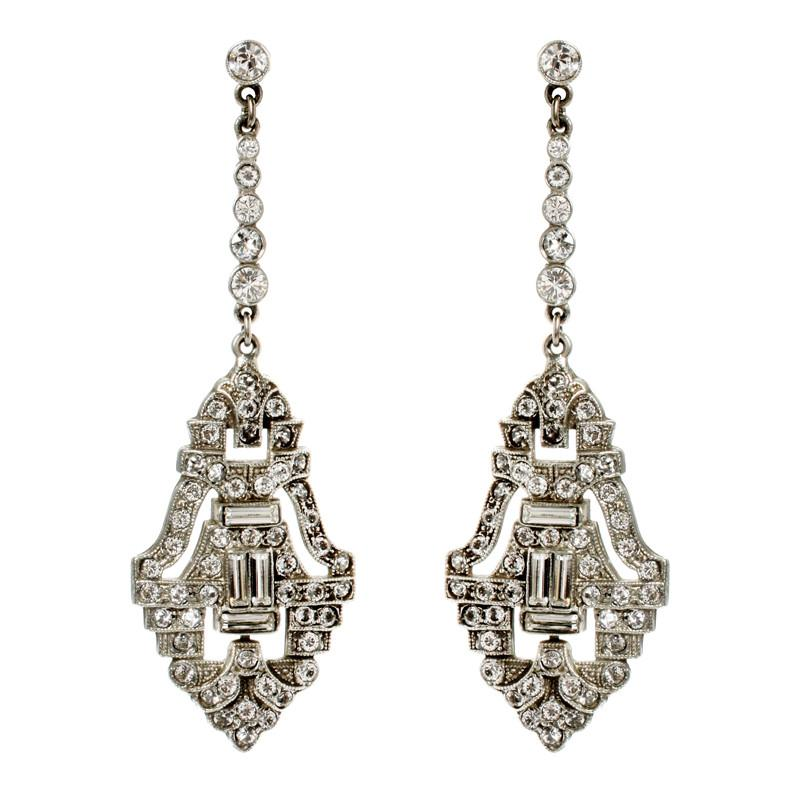 Belle Epoque Statement Drop Earrings - Ben-Amun