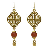 Silk Road Petite Drop Earrings - Ben-Amun