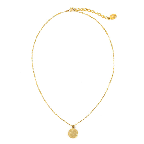 Sasha's Gold Coin Necklace