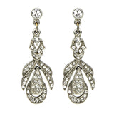 Elegance Crystal Drop Earrings - Ben-Amun