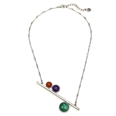 Mondrian Bar Necklace - Ben-Amun