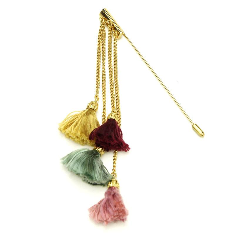 Venetian Breeze Tassel Pin - Ben-Amun