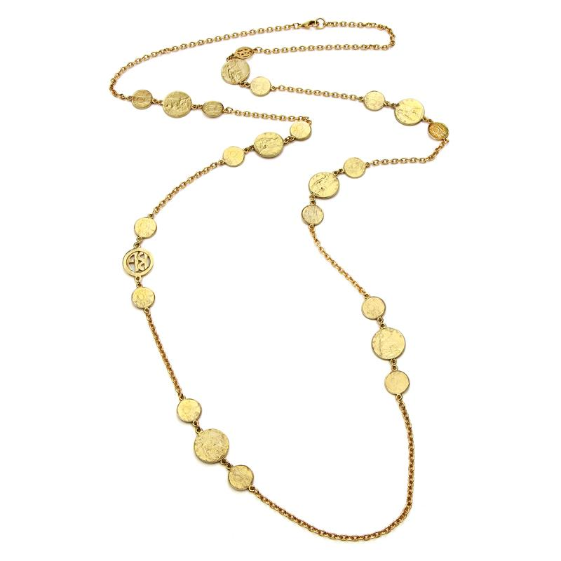 Casablanca Long Chain Necklace - Ben-Amun