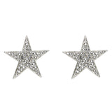 Rock Star Crystal Large Clip On Earrings | Swarovski | Ben-Amun