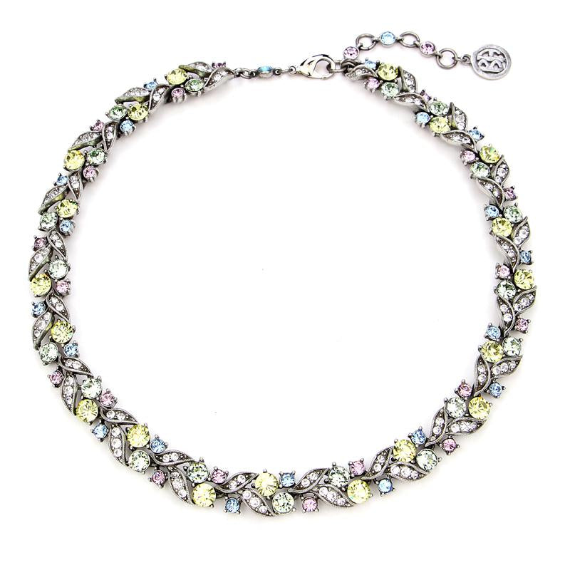 Crystal Collage Multicolor Swarovski Necklace - Ben-Amun
