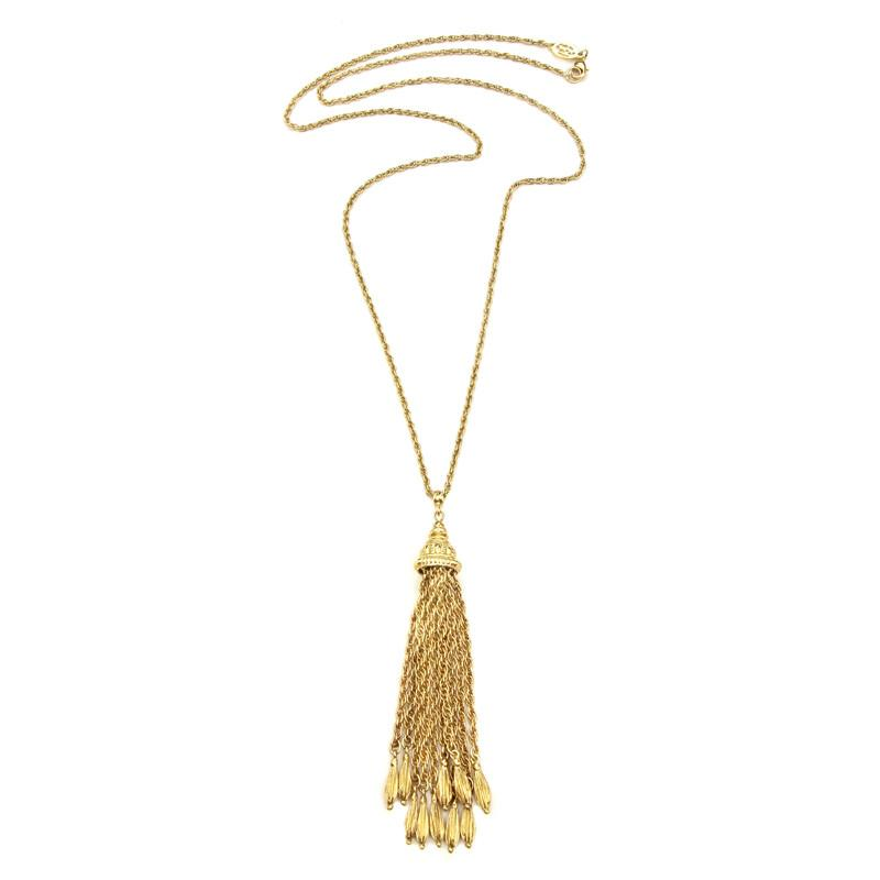 Gypset Chain Tassel Necklace - Ben-Amun