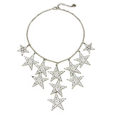 Rock Star Multi Crystal Necklace