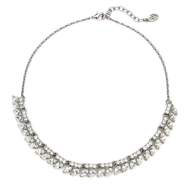 Modern Deco Marquise Necklace - Ben-Amun