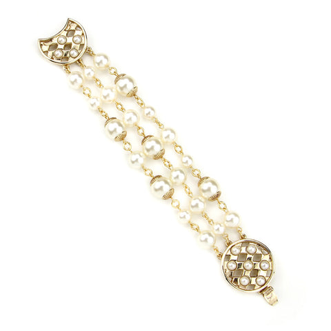 Lattice Pearls Bracelet - Ben-Amun