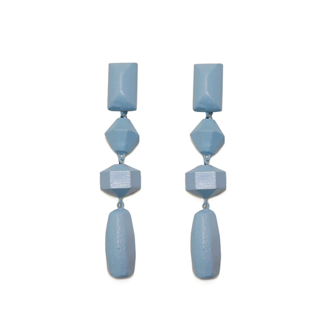 Geometric Drop Earrings - Ben-Amun