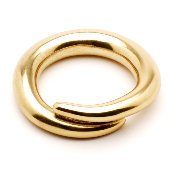 Gold Spiral Bangle - Ben-Amun